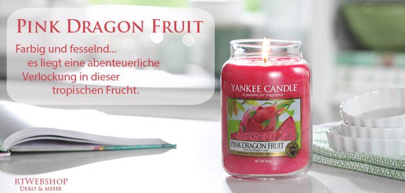 Yankee Candle Pink Grapefruit - perfekt gereifte, sonnengeküsste Früchte versprühen einen spritzigen Zitrusduft, der die Sinne anregt.